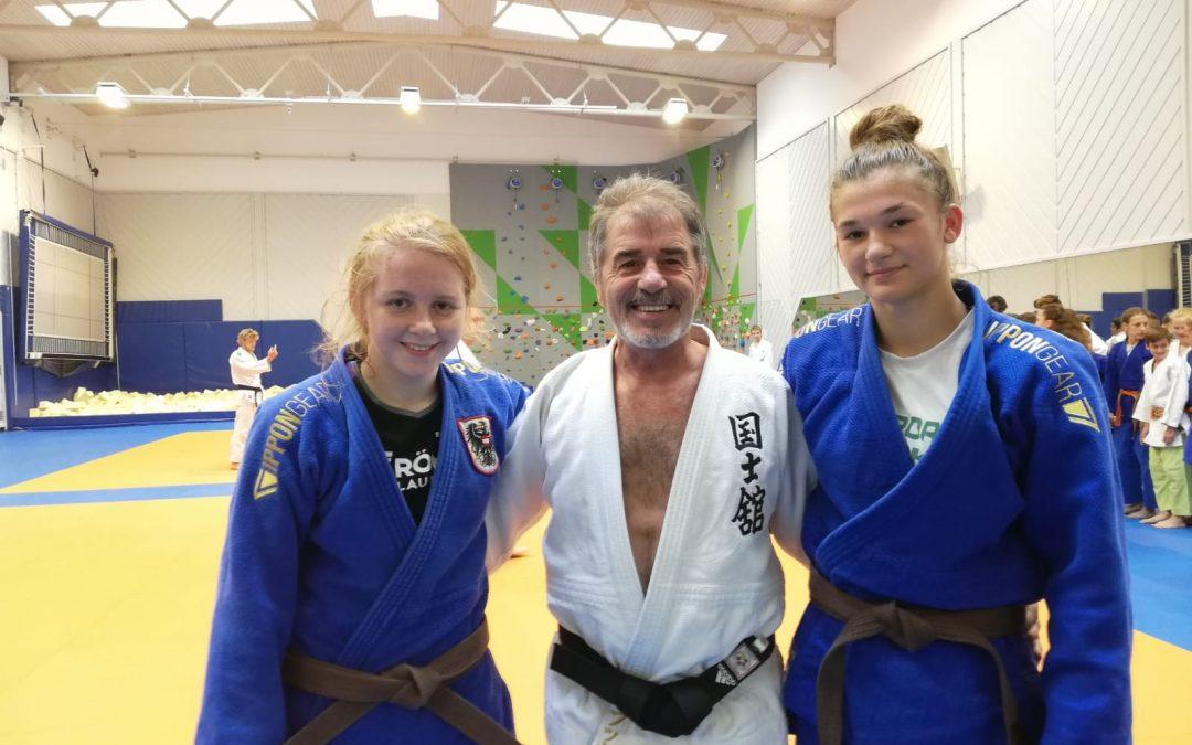 Verena Hiden und Lisa Tretnjak bei Judo-Junioren EM