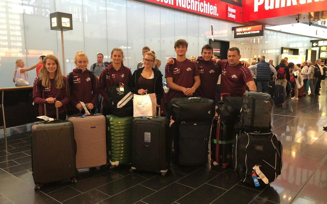 Rückkehr aus Japan – Landung in Wien