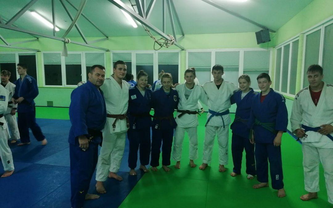 30.10.2019 Training in Celje mit Olympiasiegerin Tina Trestnjak