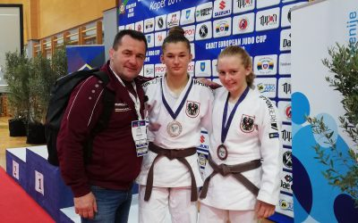 EC u18 Koper Lisa Platz 2, Verena Platz 3, Tobias Platz 7