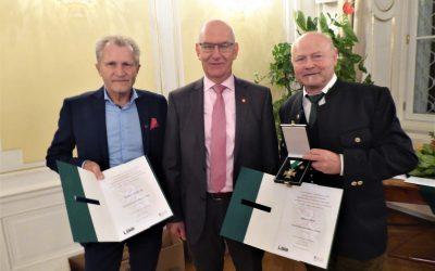 Hohe Auszeichnung für Albert und Rudi