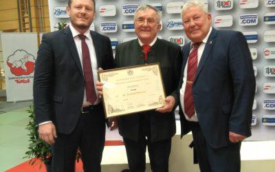 8. Dan für Herbert Wiesner – jetzt gehört Herbert zu den höchst graduiertesten Judokas Österreich