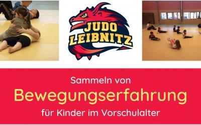 """Neuer Kurs """"Bewegungserfahrung für 4- bis 6-jährige"""""""