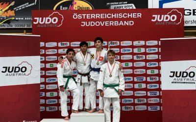 Österr. Meisterschaften u18/u21 – 2 Titel und 3 weitere Medaillen