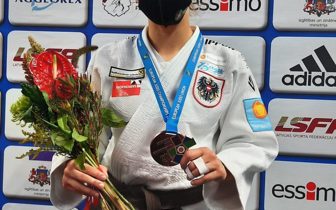 EM u18 Riga/Lettland – Bronze für Lisa Tretnjak
